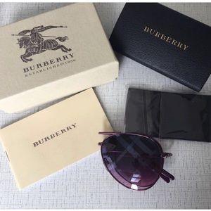 Burberry compact signature lenses sunglasses new